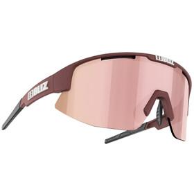 Bliz Matrix Small Nano Optics Nordic Light Glasses matt powder pink/brown with rose multi
